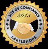 Site de confiance 2015 par LABELSHOPS