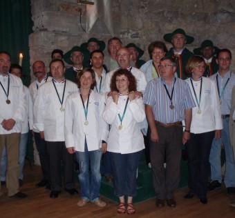 Avec les nouveaux chevaliers dont notamment ses amis MOF des promotions 2000, 2004 et 2007.