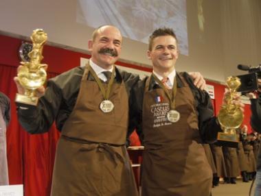 Bernard et Rodolphe émus et soulagés : le travail a porté ses fruits !