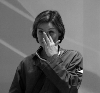 Laëticia Gaborit émue à l'annonce des résultats