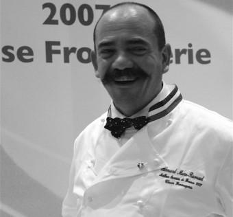 Bernard Mure-Ravaud... heureux !