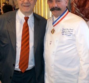 Rencontre avec Alain Ducasse à l'occasion de la remise des médailles des Meilleurs Ouvriers de France