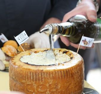 Moelleux de crozets à la Chartreuse, pour faire découvrir 3 produits de notre région d'un seul coup !