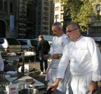Atelier culinaire avec Philippe Girardon MOF, Chef du Domaine de Clairefontaine* & Joseph Viola MOF, Chef chez Daniel & Denise